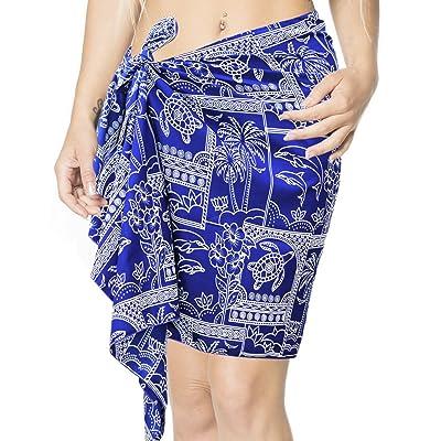 *La Leela* dames paréo paréo Enveloppement écharpe femmes bikini maillot de bain maillot de bain Mini/moitié courte