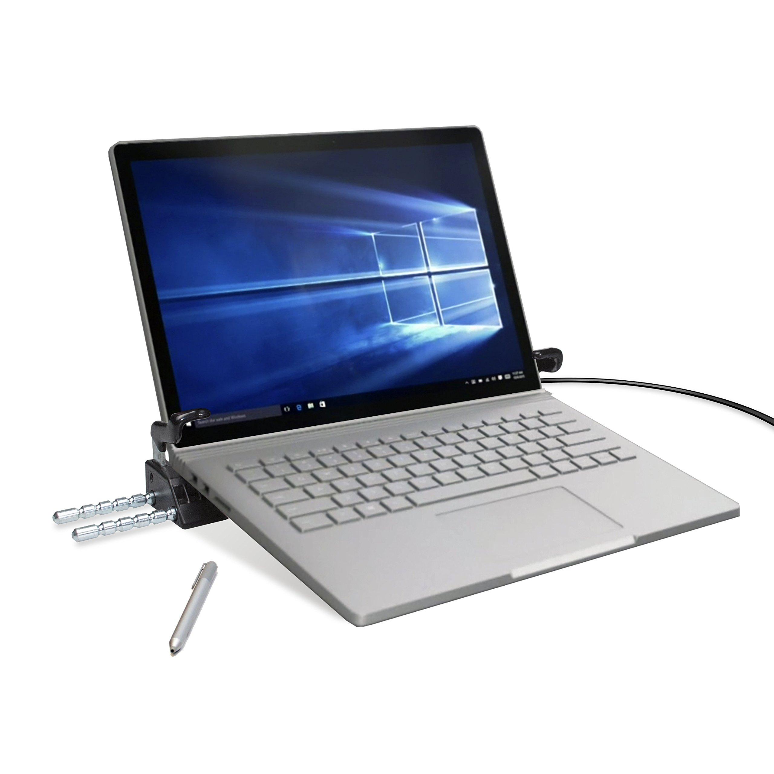 CTA Digital Heavy Duty Tri-Security Station for Tablet-Laptop Hybrids - PAD-SSLT by CTA Digital (Image #2)