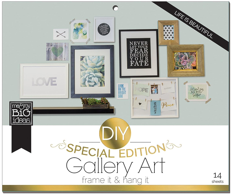 Amazon.com: me & my BIG ideas DIY Gallery Art Life is Beautiful ...