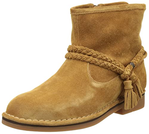HUSH PUPPIES beige suede boots size 5 uk