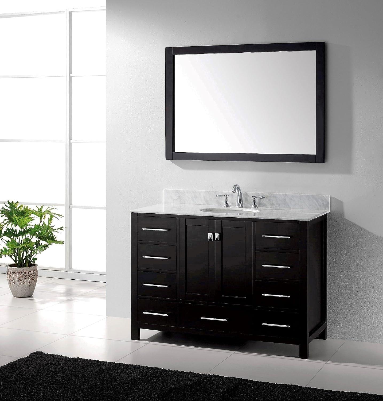 50 Off Virtu Usa Gs 50048 Wmro Es Caroline Avenue 48 Inch Bathroom Vanity With Single Round Sink