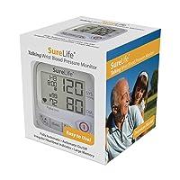 SureLife Premium Talking Wrist Blood Pressure Monitor - (1 per Box)