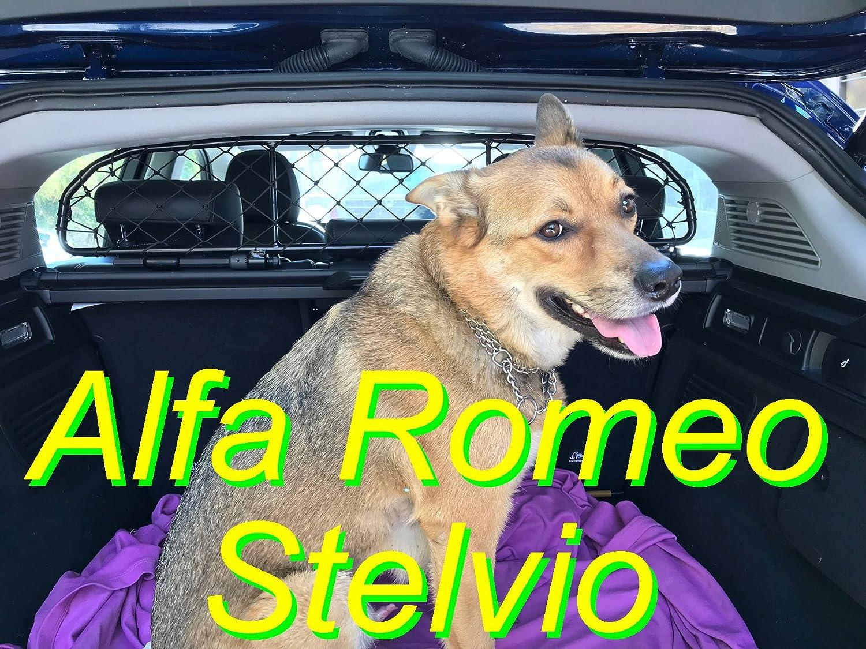 Ergotech Dog Guard, Pet Barrier Net and Screen RDA65-HXXS8 kar005us for Alfa Romeo Stelvio, for Luggage and Pets
