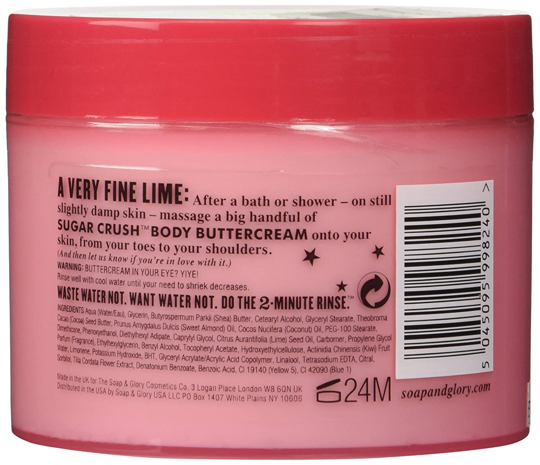 Soap And Glory Sugar Crush Moisture Extreme Body Shea Cocoa Ampamp Irresistibubble Gift Set Buttercream 300ml Beaut Et Parfum