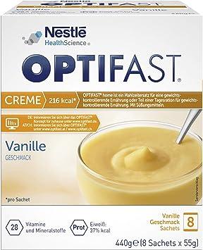 Crema dieta óptima de vainilla para adelgazar, sustituto de ...