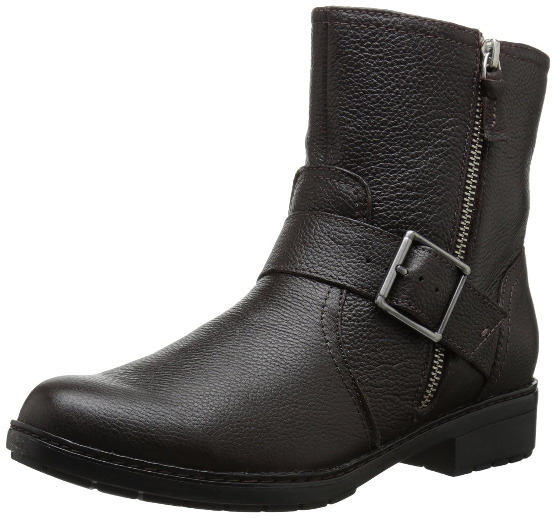 CLARKS Women's Merrian Lynn Boot B00TUCAFCW 11 B(M) US|Brown Leather