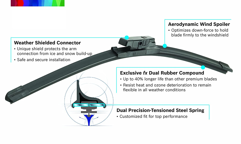 Windshield Wiper Blade-Icon Bosch 16A