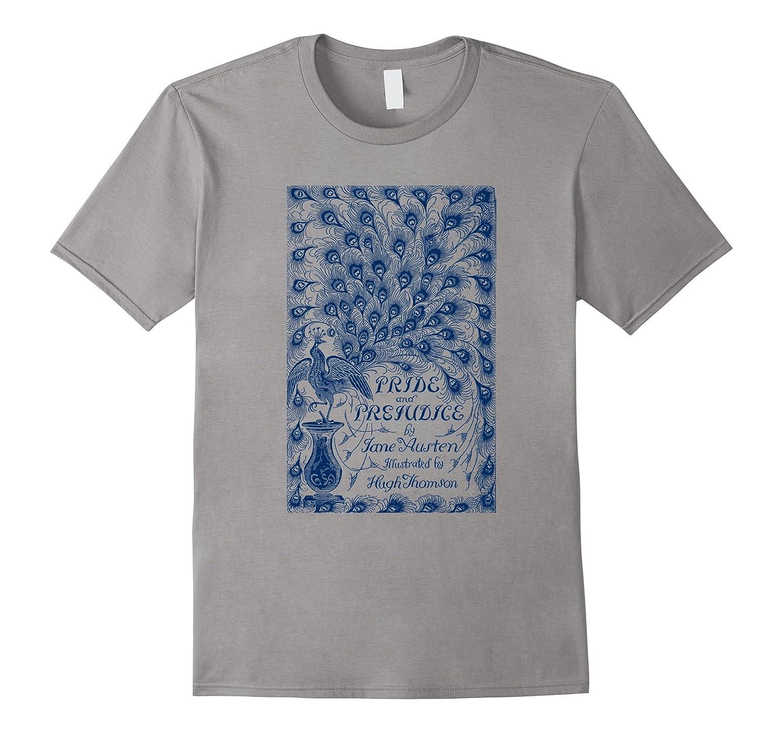 Pride and Prejudice T-Shirt Jane Austen Vintage Tee-TD