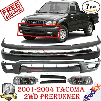 For 2001-2004 Tacoma Grille Lower Filler Lh Under Headlight Paintalbe