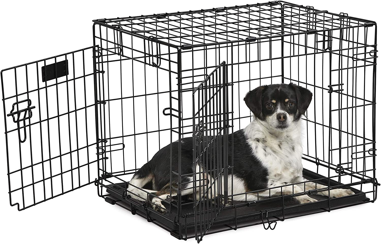 24 Contour DBL Door Dog Crate Midwest Products Co