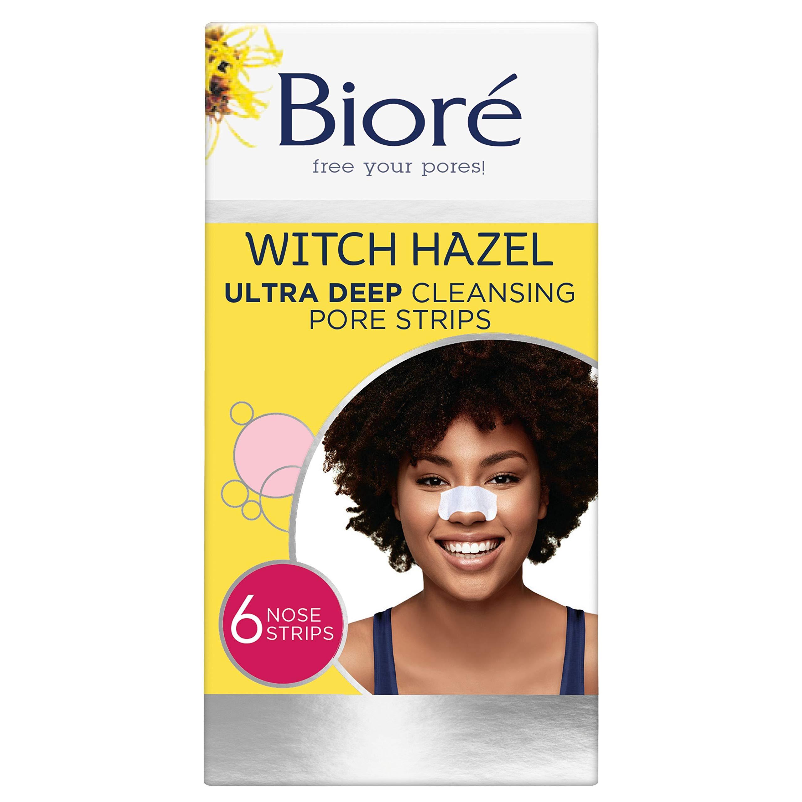 Biore Ultra Deep Cleansing Pore Strips, 6 each