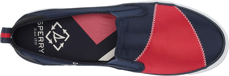 Sperry Crest Twin Gore Bionic Sneaker pour femme Bleu Marine Rouge
