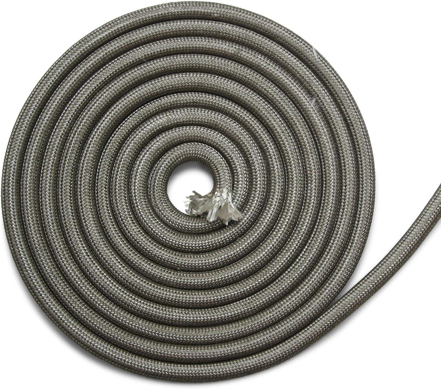 Cinta de sellado para chimenea, 3 m, diámetro de 18 x 8 mm, no autoadhesiva, apta para diferentes modelos de estufas Olsberg.