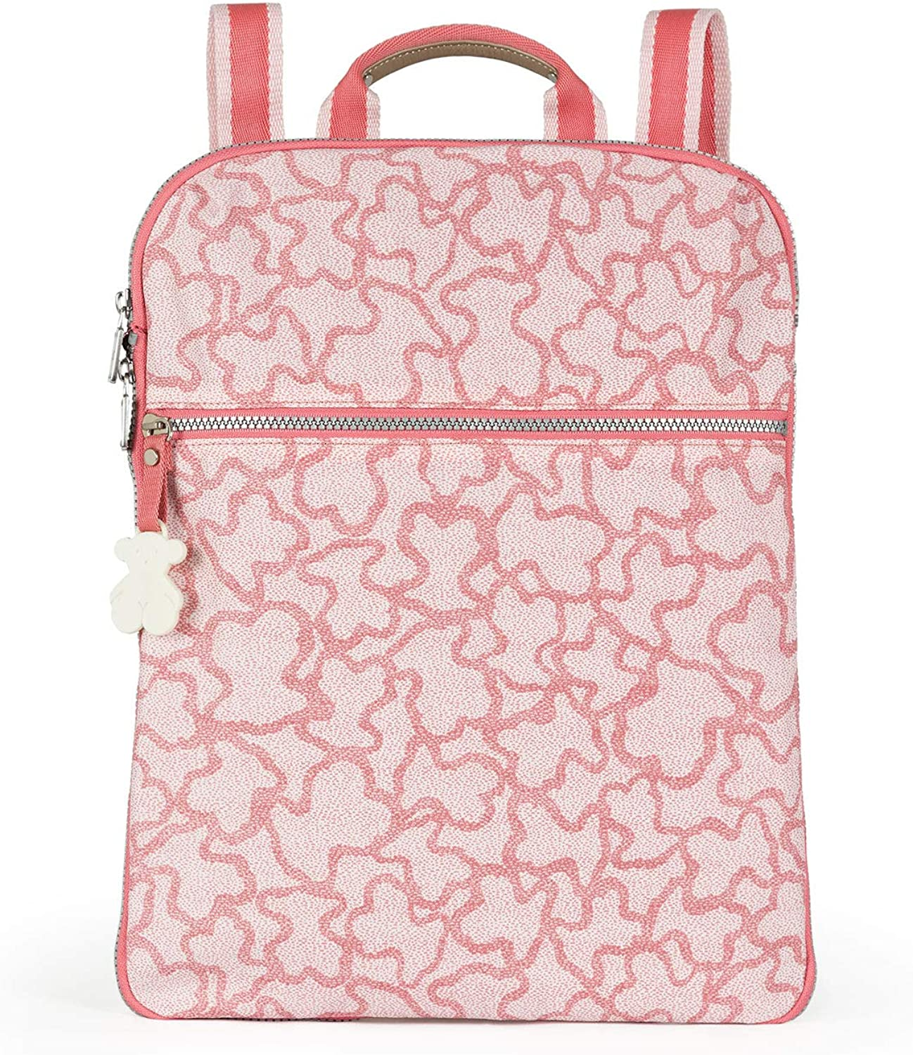 TOUS Kaos New Colores Pink Colored Nylon Backpack