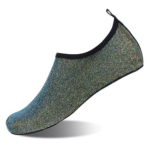 Calzado de Agua Descalzo de Secado rápido Slip on Aqua Yoga ...
