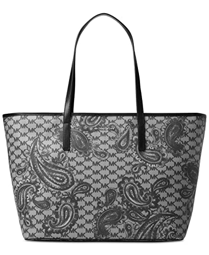 69caab3878a402 Image Unavailable. Image not available for. Color: Michael Kors Paisley  Emry Large Top Zip Tote