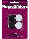 """Magic deslizadores L P 4273paquete de 41–1/4"""" RND Slider"""