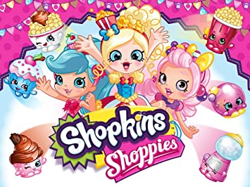 SHOPKINS SHOPPIES Birthday Party Edible Frosting Image 1 2 Sheet