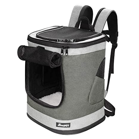 954fad7ee4 JESPET Pet Backpack Carrier for Small Dog, Puppy, Cat Carrier Backpack  Ideal for Traveling