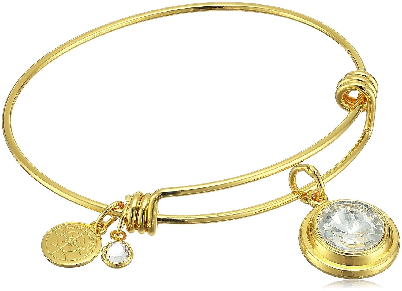 Halos /& Glories Birth Month Crystal Bangle Bracelet