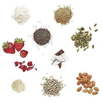 Purition Batido de proteínas de Fresa (500g). Batido para el desayuno: Amazon.es: Salud y cuidado personal