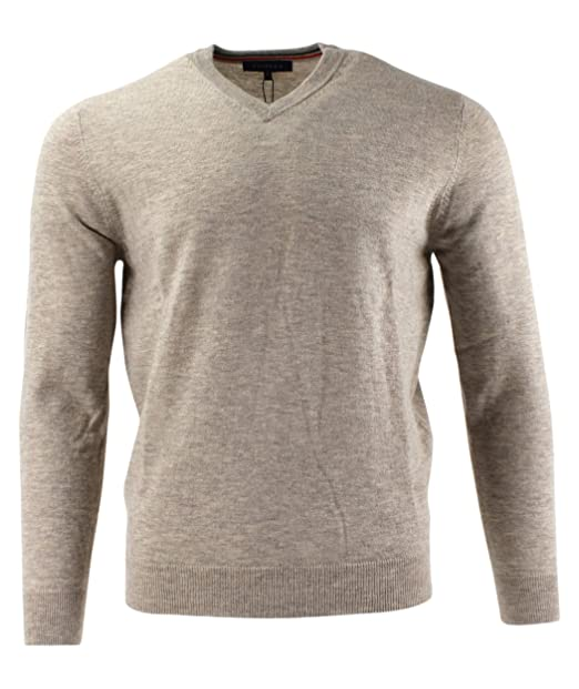 b2a4bc30ef0c Viyella Plain Beige Merino Wool Mens Jumper V Neck: Amazon.co.uk: Clothing