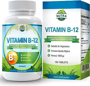 Vitamina B12, Metilcobalamina, complejo de alta concentración para ...