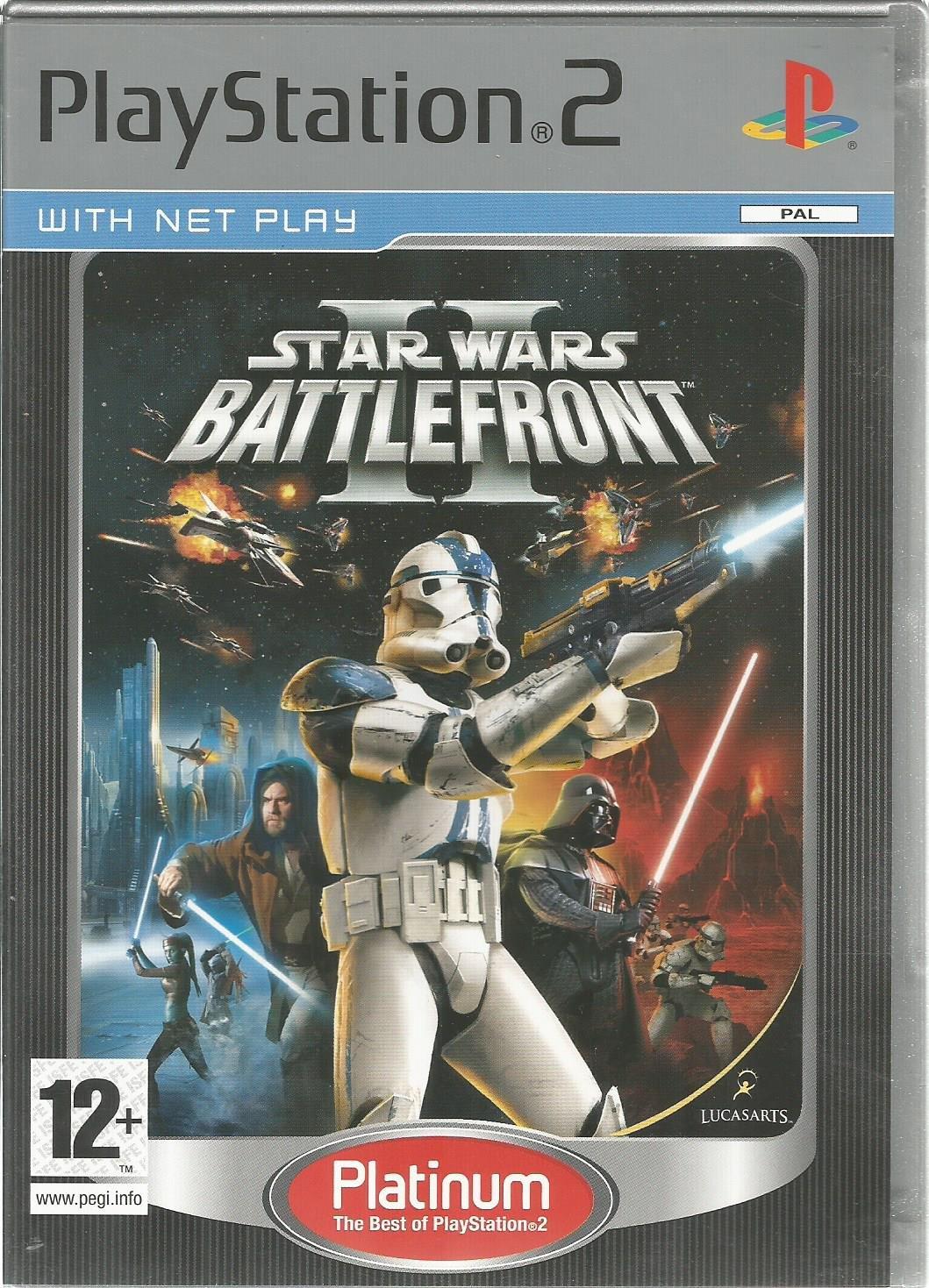 Star Wars Battlefront II (PS2) LucasArts