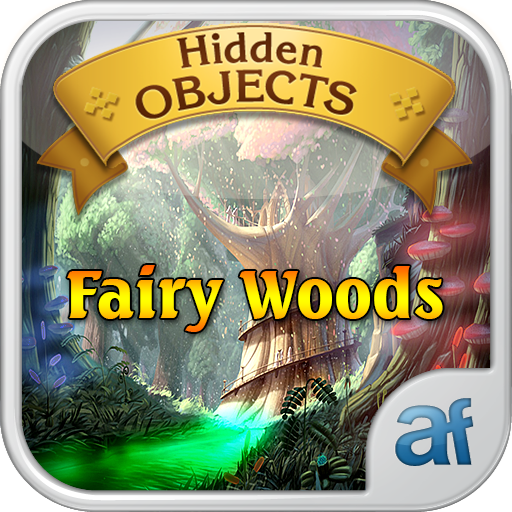 Hidden Objects Fairy Woods & 3 puzzle games -