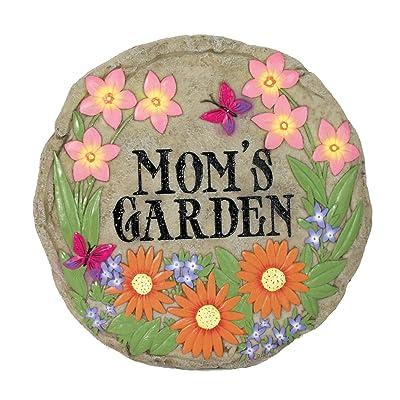 Spoontiques Mom's Garden Stepping Stone : Garden & Outdoor