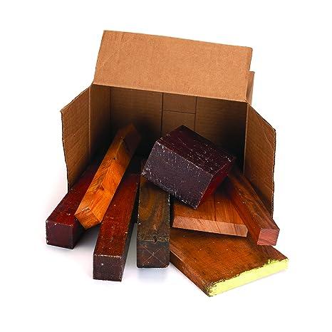 Exotic Wood Cut Offs 10 Pound Box