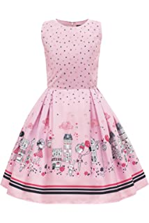 2148e1b61 Amazon.com: BlackButterfly Kids 'Audrey' Vintage Rockstar 50's Girls ...