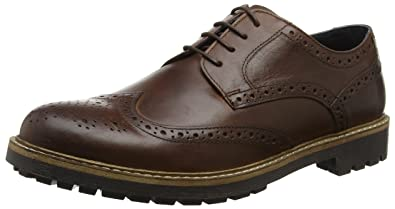 Rydal Brogue Shoes - Brown Redtape In China Sale Online MmqYr