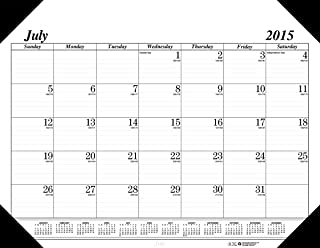 product image for House of Doolittle 2015 - 2016 Academic Year Monthly Desk Pad Calendar, 14 Months, Economy, 22 x 17 Inches (HOD12502-16)