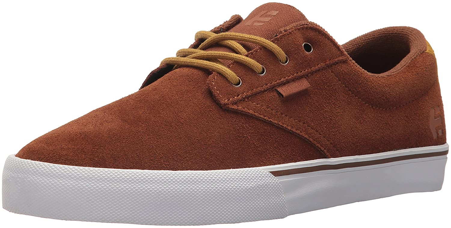 Etnies Jameson Vulc Skate Shoe 10 D(M) US|Brown/Tan