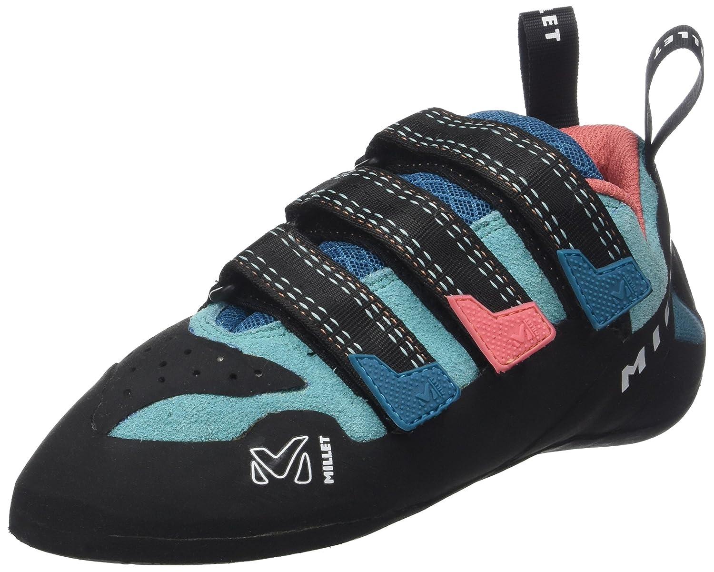 Turquoise (Bleu Pool bleu Peach) MILLET LD Cliffhanger, Chaussures d'escalade Femme 40 EU