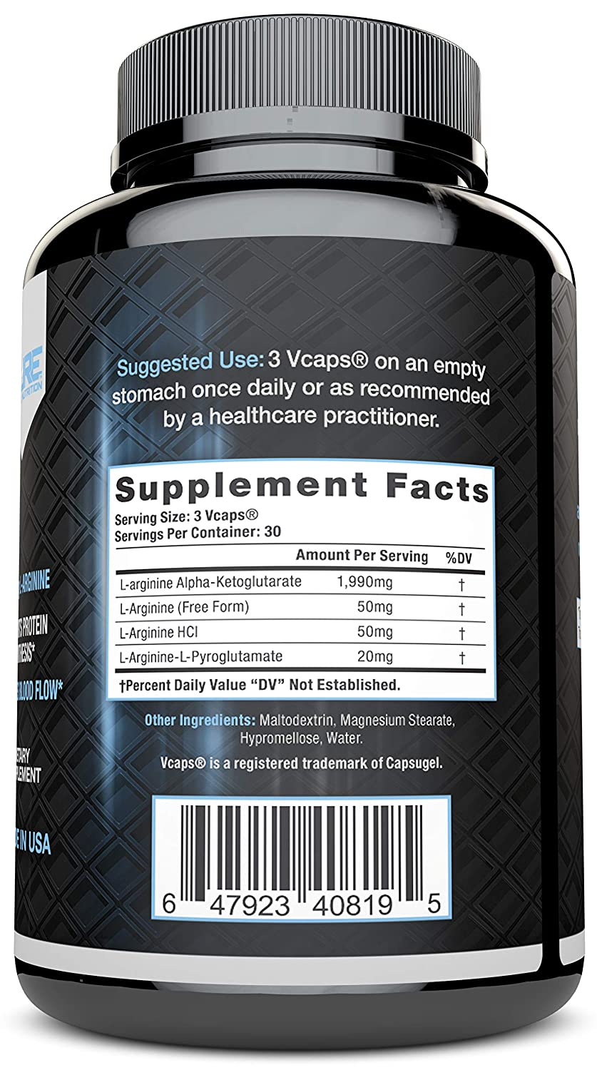 How much l arginine for sex drive