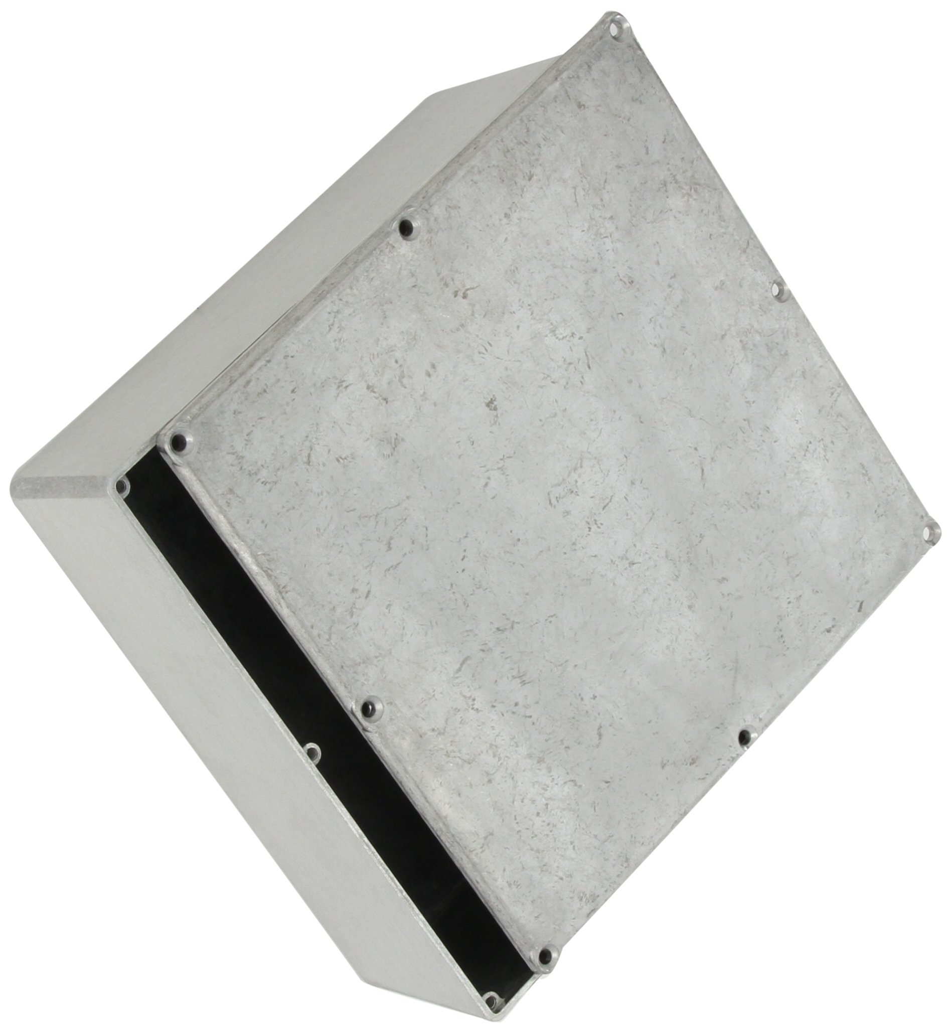BUD Industries CU-478 Aluminum Econobox, 7-1/2'' Length x 7-1/2'' Width x 2-39/64'' Height, Natural Finish