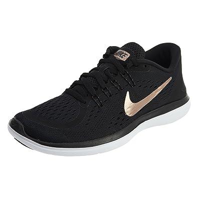 sports shoes c3975 03350 Nike Womens Flex 2017 RN, Black/Mtlc Red Bronze-Mtlc Cool Grey, 5