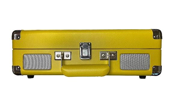 Amazon.com: Crosley CR8005D Cruiser Deluxe - Mesa giratoria ...