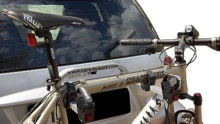 2 Fahrräder Rack Für Smart Fortwo 451 Cabrio Coupe Silber Auto