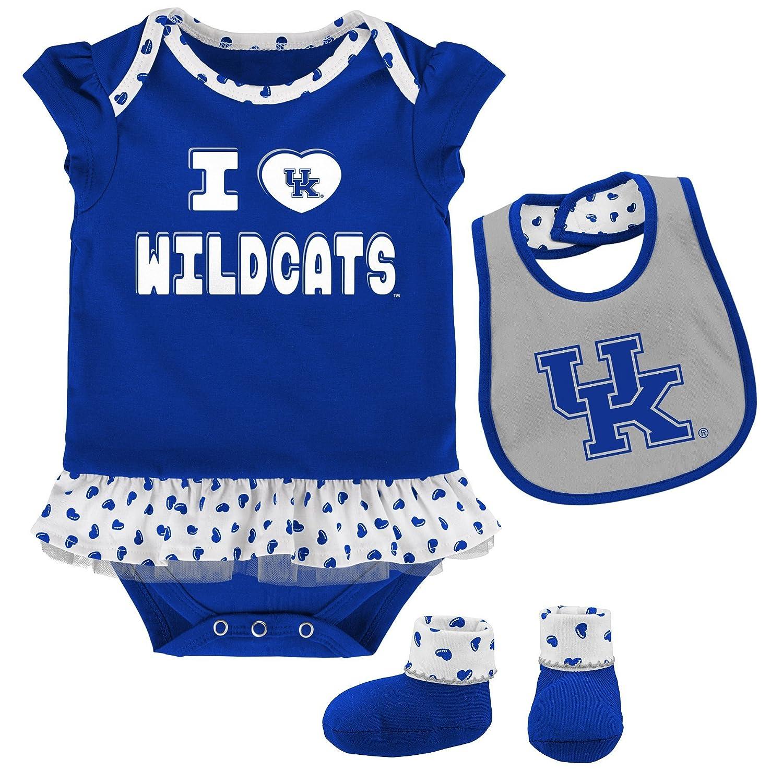 【送料込】 OuterStuff NCAA チームLoveボディスーツ よだれかけ 新生児&幼児用 よだれかけ & ブーティーセット B073ZVX96Z 12 & Months Months 12 Months|Kentucky Wildcats, 熱塩加納村:7a40c62b --- svecha37.ru