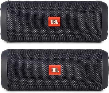 Amazon Com Jbl Flip 3 Portable Wireless Bluetooth Speaker Pair Black Electronics
