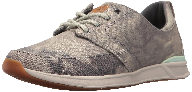 Reef Women's Rover Low TX Fashion Sneaker B01GQP2SL6 7 B(M) US|Grey/Silver