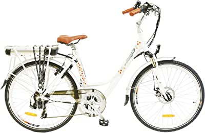 e-Ranger Cruiser Floral Electric Bike