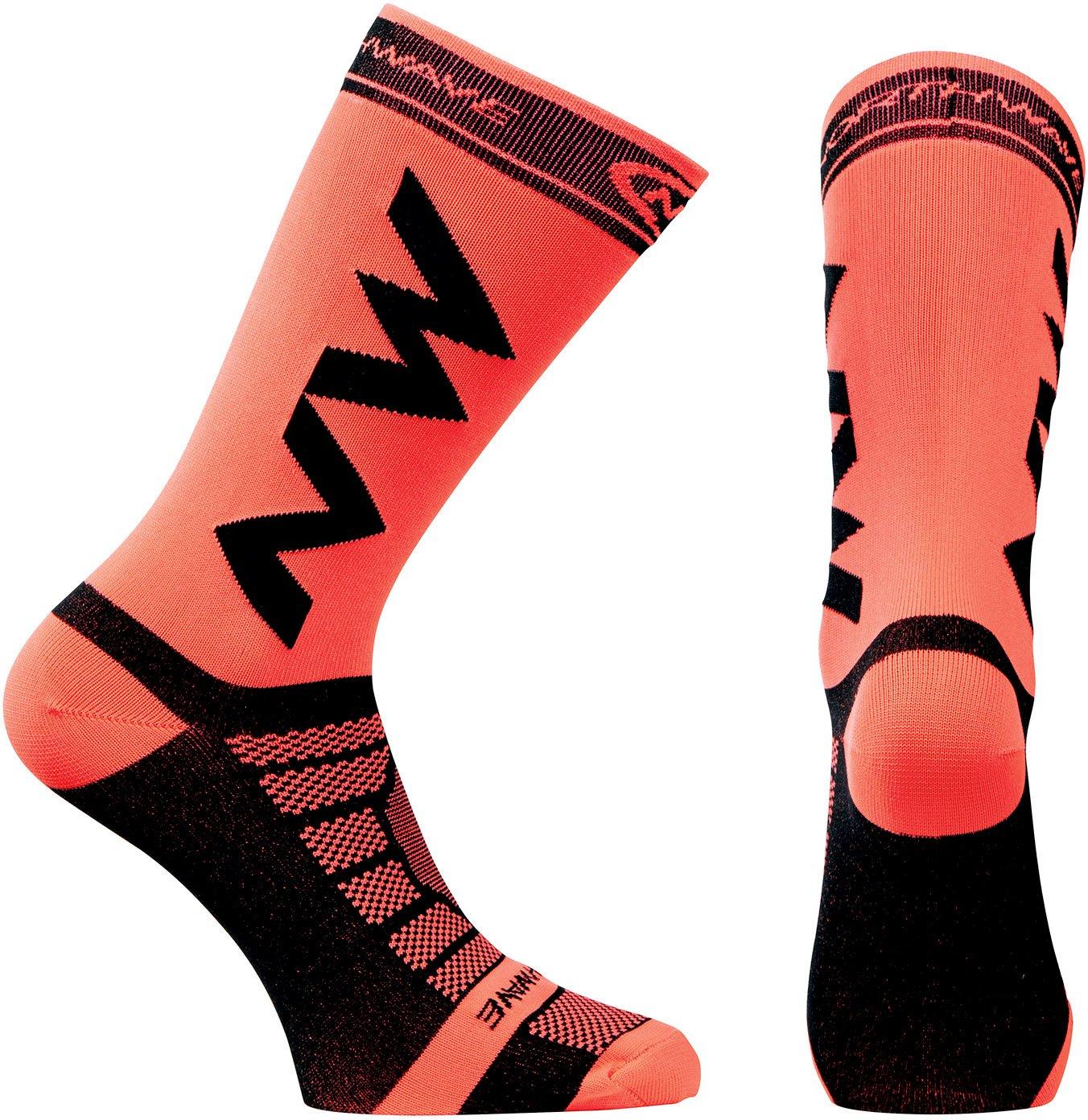 Northwave Extreme Pro Fahrrad Socken orange//schwarz 2019