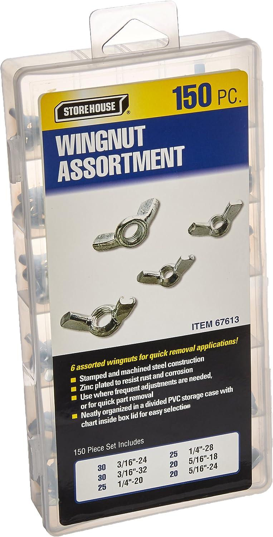 Dorman 13551 Wing Nut Assortment Pack of 10