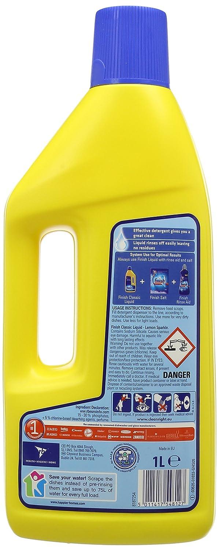 Amazon.com: Acabado Liquid Gel Limón 1 L (Pack de 9): Health ...