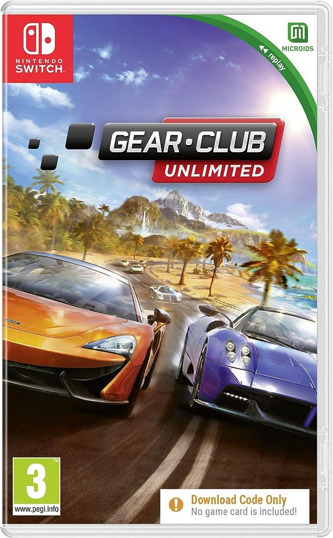 Gear Club Replay (Code in a Box): Amazon.es: Videojuegos