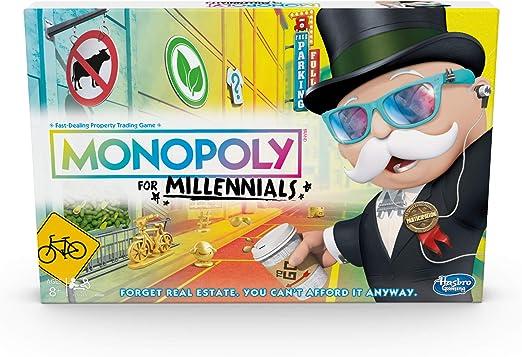 Hasbro- Monopoly for Millennials Juego de Mesa, Multicolor (E49891020): Amazon.es: Juguetes y juegos